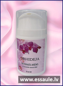 Moisturizing cream with lavender for dry, sensitive skin