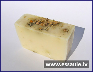 Goat's milk soap with camomile